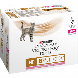 PURINA PRO PLAN VETERINARY DIETS umido gatto NF Renal Function St/Ox in busta con salmone
