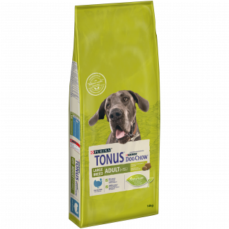 TONUS DOG CHOW Adult Large Breed Cane Crocchette con Tacchino