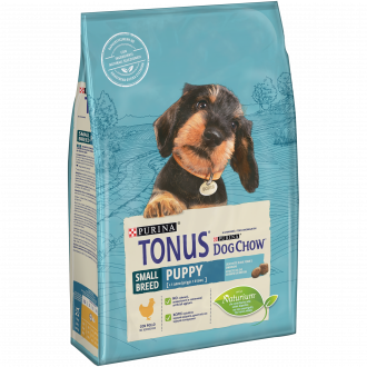 TONUS DOG CHOW Puppy Small Breed Cane Crocchette con Pollo