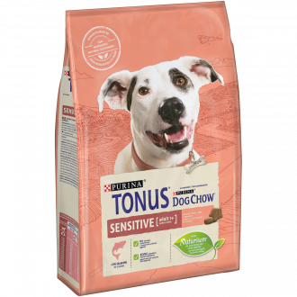 TONUS DOG CHOW Sensitive Cane Crocchette con Salmone