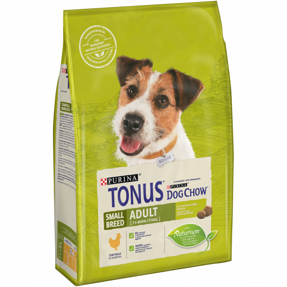 TONUS DOG CHOW Adult Small Breed Cane Crocchette con Pollo